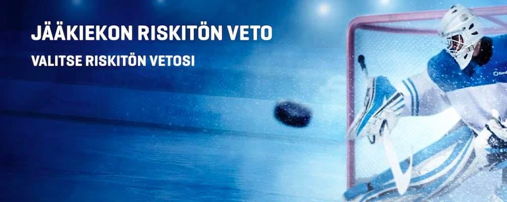 Nordicbet tarjoilee kampanjan jääkiekon MM-kisoihin!